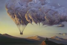 Surreal paintings by Vladimir Kush / by Jasminka J
