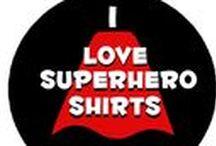 I Love Superhero Shirts