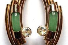 Earrings - vintage