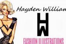 Illustrator--Hayden Williams / by Micheale Davis