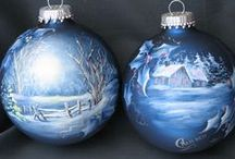 Painted Ornaments / by Melissa Borror