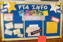 Bulletin Board Pins / ideas for our PTA & Community board at C.S. 134 / by Jessica Cardona