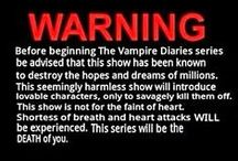 """Vampire Diaries"" / by Stephanie Doyal"