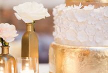 White & Gold wedding