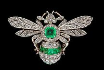 Brooches--Insects/Spiders / by Micheale Davis