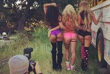 trendy rave baes / The latest in women's rave fashion!  #girlswhorave #ravebabe #edmgirl #festivalfashion #rave #fashion #edm
