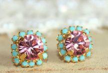 Costume Jewelry--Earrings / by Micheale Davis