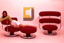 Verner Panton--Chairs / by Micheale Davis