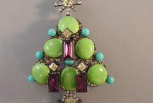 Brooches--Christmas Trees / by Micheale Davis