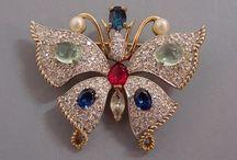 Brooches--Butterflies / by Micheale Davis