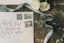 Wedding Invites + Papers