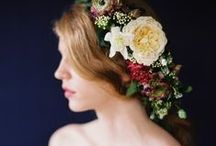 Flower Girls + Flower Crowns