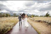 Grand Teton Wedding Inspiration / Color Story | Lavender + Goldenrod + Charcoal