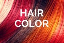 Edge Salon & Spa Hair Color / We are obsessed with great hair color as the must have accessory.  This is our collection of Inspiring Hair Color.