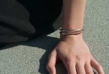 GAMIN BRACELETS / Sterling silver and gold plated jewelry. Men's bracelets and women's bracelets made by Gamin NYC.