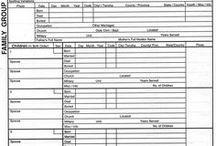 Formulaires & Régistres de Famille
