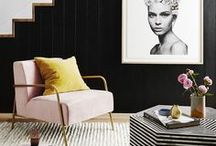 Interior Design Styling / Examples of styling the perfect vignette or room to show off your interior design skills