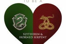 Slytherin & Horned Serpent