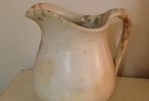 Ironstone / I love white ironstone - platters, pitchers, bowls, butter pats  / by Thoma Lou Maddy