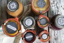 canning {RESOURCES} / Canning supplies, storage ideas, organization, canning labels