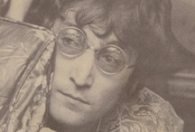 John Lennon / John Lennon's legacy lives on and on and on through his music, photos, wise words and Pinterest boards like these.