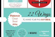 Pinterest Infographics / by Amy Neumann