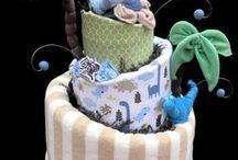 Dinosaur Baby / Prep for Adriana's shower