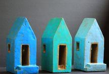mini houses / by Gail Haltiwanger