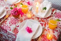 Party Time & Table Top / Decorating and table setting ideas for your next picnic, party, or holiday gathering.