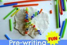 Kindergarten Writing / Activities to teach kindergarteners to write. / by Sara Vaughn