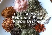 Spicy / DIY Herbs and Spices. #herbs #spices #garden #cooking / by Sara Vaughn