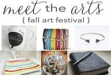Meet the Arts - October 19th  / Join us for sips and nibbles, chats with local artists, and browse through fabulous one of a kind finds!  / by Shop Angelina