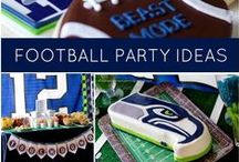 seahawk superbowl snacks / Party food ideas for when the Seahawks are in the Superbowl - AGAIN!! #seahawks #superbowl #tailgate #12thMan