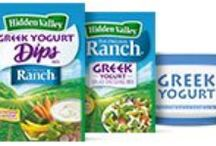 Greek Yogurt and Ranch / We know you love Greek yogurt for its tangy flavor and health benefits, so we perfected new Original Ranch dressing and dips mixes that are formulated to be made with Greek yogurt! You'll get the same ranch taste you love, with fewer calories, lower fat, and higher protein. Mix it in a dip for your next potluck or whip up some dressing for salad at lunchtime. It's so creamy and delicious, it's likely no one will be able to tell the difference! / by Hidden Valley