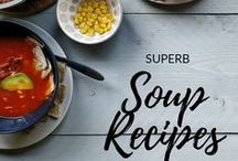 Soup recipes / Some of the best soup recipes on the web. These are mostly vegetable soup, cowder, instant pot soups but also tortilla soup, chicken soup or lasagna soup, carrot and pumpkin soup, asian soups and green pea soups.