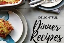 Delicious nutritious dinner recipes / The best delicious nutritious dinner recipes from tortillas, burritos but also a stew, casserole, chicken, beef, lamb, pork chops from around the web. Lots of instant pot recipe as well as easy family dinner recipes.