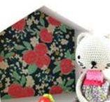 Doudous en crochets / Doudou en crochet Mademoiselle Bigoudi