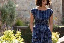 Dresses / I love wearing dresses.