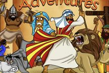 VO for Bible Pathway Adventures / Voice Over and full story audio production I've done with Bible Pathway Adventures.