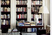 Libraries & Bookcases / by Lou Palhares
