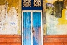 Doors, windows, and gates.