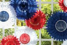 4th of July | Party Decor Inspiration / The best Independence Day decoration for parties and weddings. Show off your patriotism!