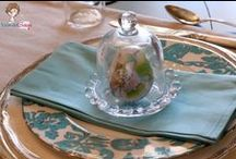 Tablescapes / Not just for dinner with great dinnerware, but any tabletop.  Expand your view to dress a tabletop, any table, anywhere, for any reason, Side tables, buffet tables, coffee tables, dressing tables, consoles, nightstands, credenzas et al.