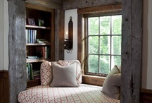 Book Nooks and Window Seats / by Katherine Lumb
