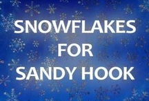 Snowflakes for Sandy Hook / Sandy Hook students will be relocated to continue school in January. In response to a request from the Sandy Hook PTA, please help these students have a winter wonderland at their new school! Get Creative! No two snowflakes are alike. Make and send snowflakes by January 12, 2013 to: Connecticut PTSA 60 Connolly Parkway Building 12, Suite 103 Hamden, CT 06514