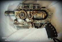 metal and steam punk / by Matthew Garza