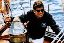 ** JFK the Quest of Camelot** / Don't let it be forgot/That once there was a spot/For one brief shining moment/ That was known as Camelot!...memories of President John F. Kennedy... / by Sheila Johnson-Burris