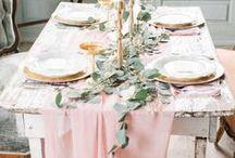 Spring | Wedding Decor / Inspiration for spring weddings.