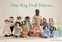 Dolls Made From Dixie Redmond Pattern / Dolls on this board are made with a Dixie Redmond Doll pattern.  If you have made a doll from my pattern(s) and would like to pin it here, let me know and i will add you to those who can pin.