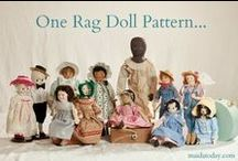 MAIDA Dolls Group Creations / Dolls on this board are made by MAIDA Dolls Group members.  MAIDA Dolls Group is for doll makers who enjoy making antique inspired dolls and accessories.   / by Dixie Redmond